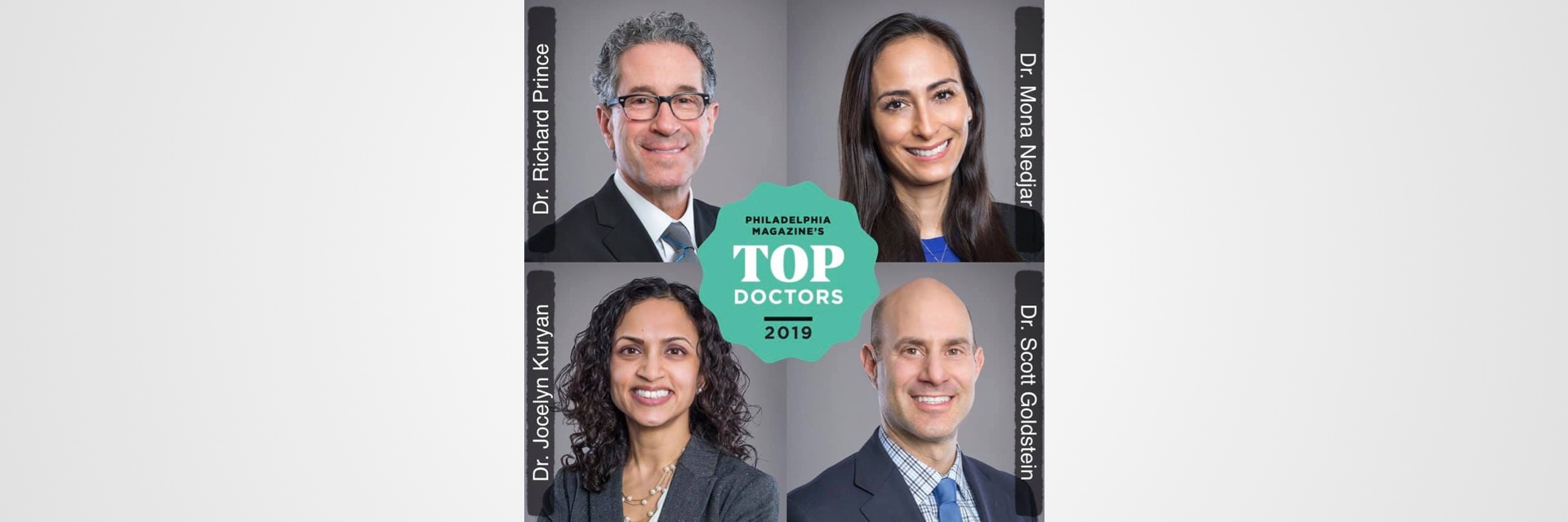 Philadelphia Magazine's Top Doctors™ 2019 in Ophthalmology Image 1